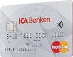 Så här ser kreditkort från ICA Banken ut