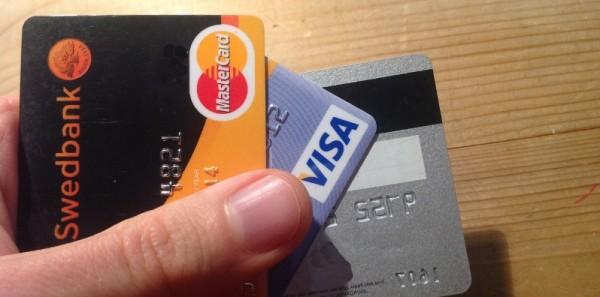 Betalningsanmärkning och kreditkort