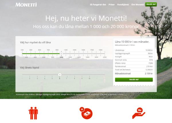 Folkia byter namn till Monetti