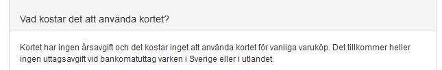 Bank Norwegian villkor uttagsautomat