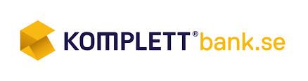 Logotyp för Komplett Bank