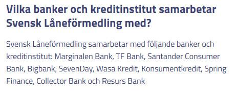 Skärmdump 2018-12-19 över Svensk Låneförmedling AB samarbetande banker
