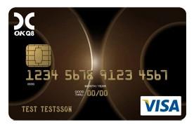 VISA-kort från OKQ8 Bank